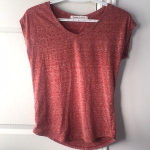 2/$20 tshirts (dusty red & grey)